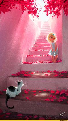 art-красивые-картинки-лестница-647497.jpeg (750×1340)