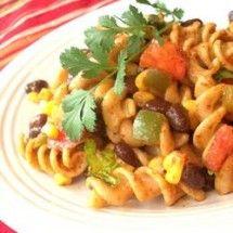 Main Dish Salad: Southwestern Pasta Salad