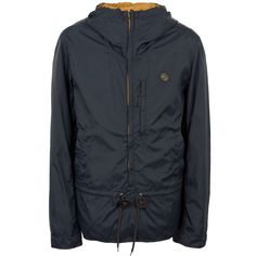 Navy Nylon Cagoule | Pretty Green | Liam Gallagher <-- ... or in navy?