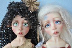 Черное и белое - Lou от Nefer Kane / BJD - шарнирные куклы БЖД / Бэйбики. Куклы фото. Одежда для кукол