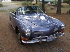 Beautiful Karmann Ghia Convertible