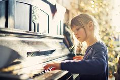 Image result for little girl playing piano