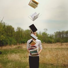 """""""Surreal Self Portraits"""" photograph series by Kyle Thompson, via Flickr"""