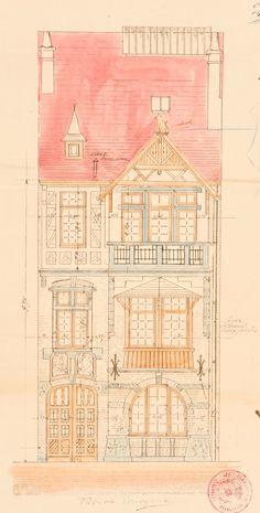 Schaerbeek - Avenue Albert Giraud 22 - HENRY Émile