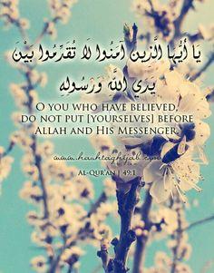 Islamic Daily: Before
