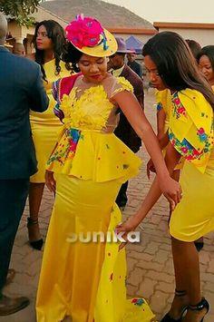 Venda Traditional Attire, Tsonga Traditional Dresses, South African Traditional Dresses, Traditional Wedding Dresses, Traditional Outfits, African Fashion Ankara, Latest African Fashion Dresses, African Print Fashion, African Dress