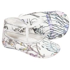 Roberto Cavalli - Baby Girls Cotton Pre-Walker Shoes |