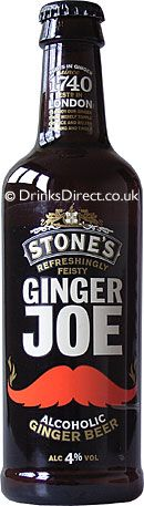 Stones Ginger Joe is a refreshingly feisty Ginger Beer. Light amber in colour with aromas of ginger, spice and citrus. This alcoholic ginger beer is refreshing on the palate with the gentle heat from the . Coffee Bottle, Beer Bottle, Whiskey Bottle, Cocktails, Drinks, Ginger Beer, Bottle Design, Cold Brew, Pepsi