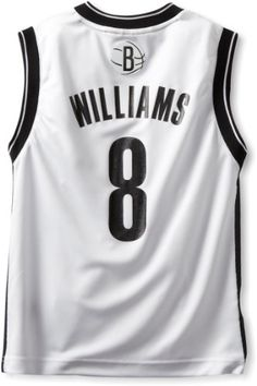 NBA Brooklyn Nets Deron Williams Youth 8-20 Replica Home Jersey, Medium, White | Your #1 Source for Sporting Goods & Outdoor Equipment