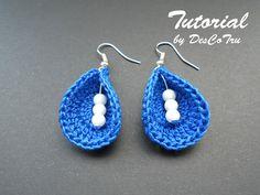 Ehi, ho trovato questa fantastica inserzione di Etsy su https://www.etsy.com/it/listing/233634668/crochet-earrings-with-beads-tutorial-do