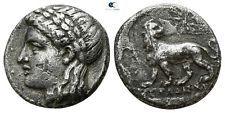 Savoca coins jónicas miletos drachm Lion Apollo Star Estrella 3,36 G/15 mm ^ uuu4130