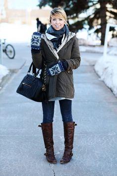 what to wear in edinburgh in winter