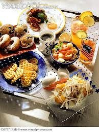 brunch on a tray - Google Search