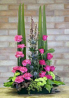 parallel flower arrangement videos - Google Search