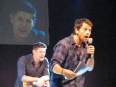 Supernatural - Jensen & Misha's resume battle - YouTube     Why am I just now watching this?!  TOO FUNNY!