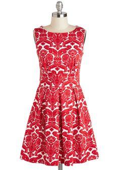 Aint We Haute Fun? Dress in Floral Flourish | Mod Retro Vintage Dresses | ModCloth.com