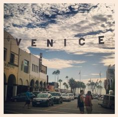 Our hometown of Venice Beach.