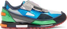 Raf Simons - Blue Metallic adidas Edition Sneakers
