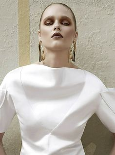 """Beegee Margenyte by Gavin O'Neill in """"Future Rising"""" for Fashion Gone Rogue 