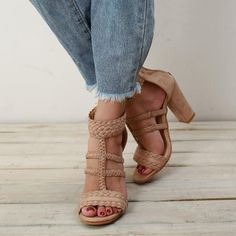 f5f9921668967 Peep Toe Leisure High Heels Sandals For Women