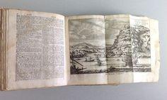 ANTIQUARISCHES BUCH VON 1717 HEILIGE SCHRIFT KANAAN NIEDERLANDE ANTIK 18. JHD