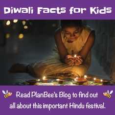 This 'Diwali Facts for Kids' blog explains when, how and why Diwali is celebrated. This year, 2020, it takes place on Saturday 14th November. Why Is Diwali Celebrated, Diwali Facts, Hindu Festivals, Facts For Kids, Religious Education, Kids Reading, Primary School, How To Find Out, November