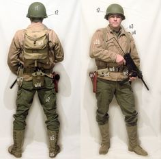 Us Army Uniforms, German Uniforms, Military Figures, Military Diorama, Military Gear, Military History, American Uniform, Military Modelling, Armed Forces