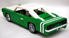 Cool lego car -Lime Twist by Gilcélio, via Flickr