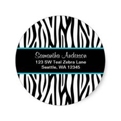 >>>Are you looking for          Black and Teal Blue Zebra Custom Address Label Round Stickers           Black and Teal Blue Zebra Custom Address Label Round Stickers In our offer link above you will seeDiscount Deals          Black and Teal Blue Zebra Custom Address Label Round Stickers Her...Cleck Hot Deals >>> http://www.zazzle.com/black_and_teal_blue_zebra_custom_address_label_sticker-217363767831005345?rf=238627982471231924&zbar=1&tc=terrest