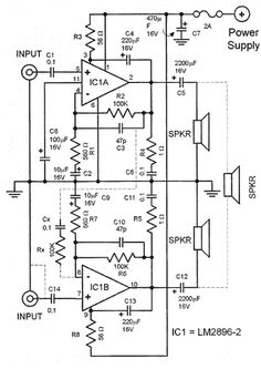 9 best car amplifier images car amplifier circuit diagram rh pinterest com
