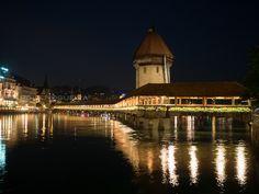 Kapellbruke, Luzern, Switzerland