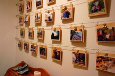 Easy Photo Wall on a Shoestring ... er, Wire, Budget » Curbly | DIY Design Community
