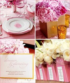 InStyleWeddings.com   Pretty in Pink