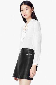 00398e8eef2e43 Bluzki i koszule - Mango - Bluzka Floras Najnowsze Trendy Modowe, Danielle  Campbell, Podkoszulki