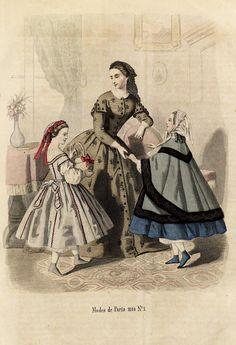 In the Swan's Shadow: From Penelope: Nyaste journal för damer 1860. Stiftelsen Nordiska museet (museum).