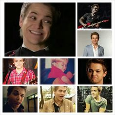 Ah the many unique faces of Hunter Hayes:)♥
