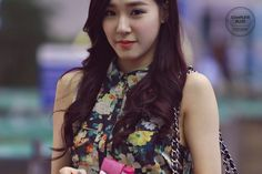 SNSD Tiffany airport