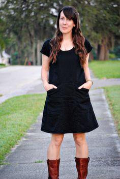 sewing: alder bess dress tutorial || imagine gnats