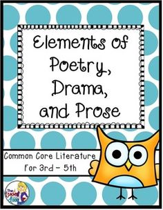 This set is filled with fun, original poems, mini-plays and pieces of prose that your students will enjoy. Lots of variety and great short pieces of literature. (TpT Resource)