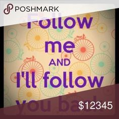 Follow game!! Follow and I will follow you!! Follow game!! Follow and I will follow you!! Share my items and I will share yours!! Other