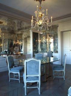 antique mirror ideas on pinterest mirrored walls antiqued mirror