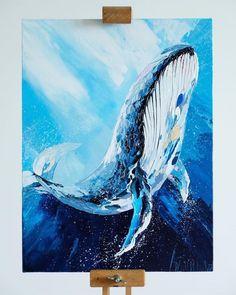 New wood texture drawing palette knife ideas Whale Painting, Painting & Drawing, Texture Drawing, Texture Painting, Whale Art, Palette Knife Painting, Arte Pop, Diy Canvas Art, Watercolor Artwork