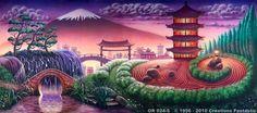 Backdrop OR024-S Oriental Landscape 2