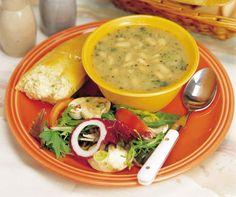 White Bean Soup   MrFood.com