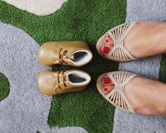 baby shoes + mama shoes @Jordan Greene @Phillip Ukleja we must do this for the wedding!