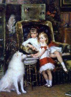 Los niños de Alexander III,1882