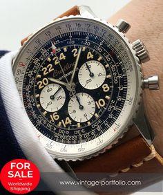 Genuine Breitling Navitimer Cosmonaute Scott Carpetner Edition a12022 Chronograph #breitling #breitlingwatches  #luxurywatchbrands  #militarywatches