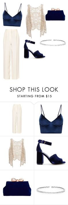 """bohemian soul"" by sanahudakazmi ❤ liked on Polyvore featuring The Row, Joie, Ted Baker and Suzanne Kalan"