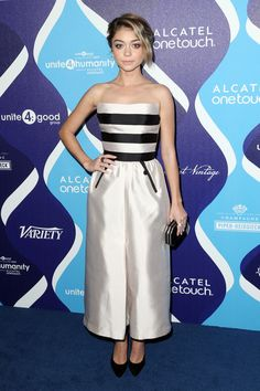Sarah Hyland Photos: 2nd Annual unite4:humanity Presented By ALCATEL ONETOUCH - Arrivals