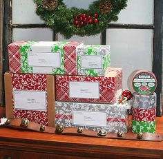 Deco Tape for mailing packages ( sold at Joanns)